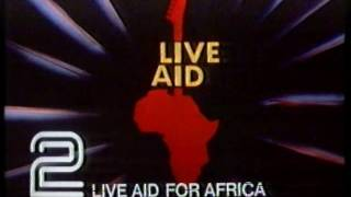 Live Aid Technical Fault BBC2