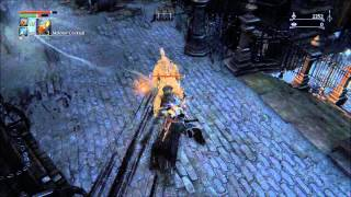 Bloodborne - How to get insight before the first boss (level up)