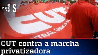 CUT reclama de privatizações propostas por Bolsonaro