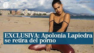 Exclusiva: Apolonia Lapiedra se retira del porno