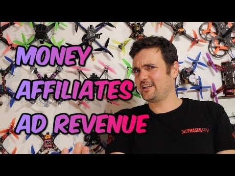 Affiliate links and Making Money on youtube.