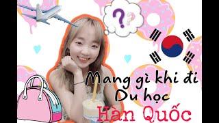 [ INCHEON/ KOREAN ] MANG GÌ KHI ĐI DU HỌC???