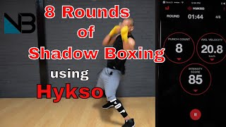 8 Rounds of Shadow Boxing | Hykso by NateBowerFitness