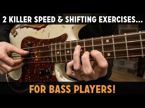 2 Killer Speed & Shifting Exercises For Bass Players (L#149) /// Scott's Bass Lessons
