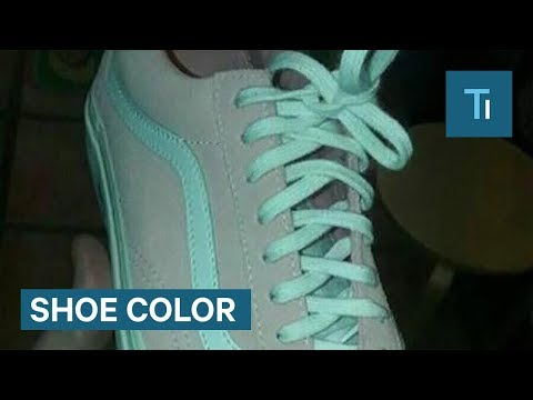 Do You Know What Colour These Shoes Are?