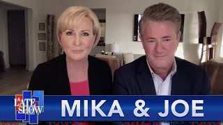 Mika Is The Odd One Out In Joe And Willie's Hypothetical Toke Session
