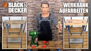 DIY: Alte Black & Decker Werkbank aufarbeiten - Never2Late