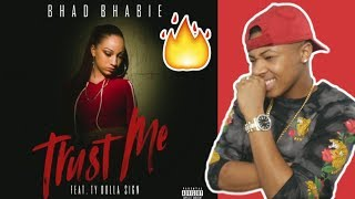 """BHAD BHABIE feat. Ty Dolla $ign - """"Trust Me"""" (Official Audio)   Danielle Bregoli Reaction"""