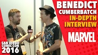 Benedict Cumberbatch on Marvel LIVE at San Diego Comic-Con 2016