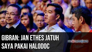 #GenerasiSolusi - Gibran: Jan Ethes Jatuh Saya Pakai Halodoc (Part 4) | Mata Najwa