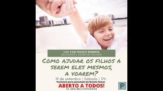 Revista Passos conversa com Nembrini - Como ajudar os filhos a serem eles mesmos, a voarem? (1:08:29)