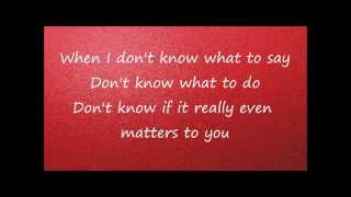 It Matters To Me Live Piano Version By Faith Hill *Lyric Video*