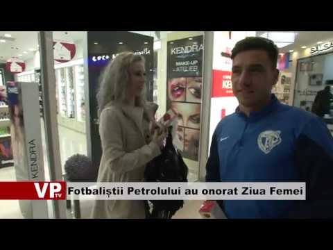 Fotbaliștii Petrolului au onorat Ziua Femei