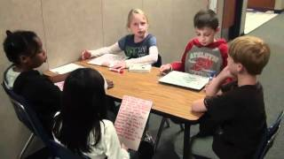 3rd Grade Literature Circle Discussions - 2011