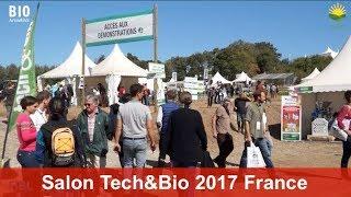 Activités de démonstrations en Europe: Le salon Tech&Bio 2017