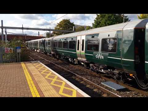 Great Western Railway Class 387 EMUs at Slough 28th Septembe…