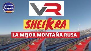 VR BOX 3D Montaña Rusa Sheikra  Busch Gardens Tampa    PARQUES Y VIAJES