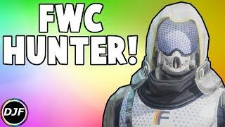 Destiny 2: FWC's Simulator Hunter Armor Set Showcase! | FWC Armor With Ornaments!