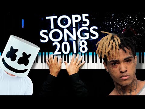 TOP 5 SONGS OF 2018 | PIANO
