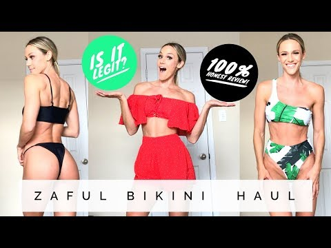 ZAFUL Bikini Athleisure Haul l Try-On Review