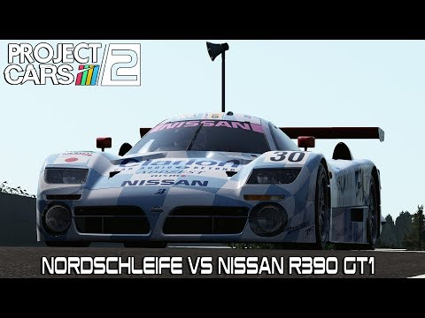 NORDSCHLEIFE VS NISSAN R390 GT1 - PROJECT CARS 2