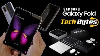 Samsung Galaxy Fold Phone | A device unlike any before | Tech Bytes