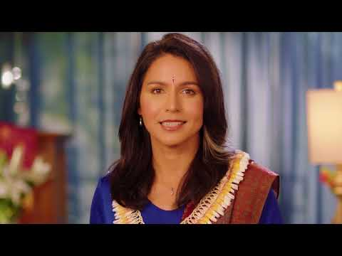 Tulsi Gabbard: Janmastami video message