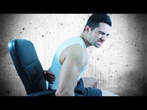 Übung an der Verletzung der Halswirbelsäule