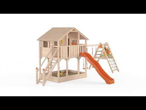 Baumhaus Atario von ISIDOR - Kollektion Stelzenhäuser