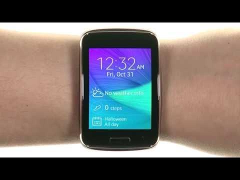 Samsung Gear S SM-R750 (S/K) Curved Super AMOLED Smart Watch (Black)
