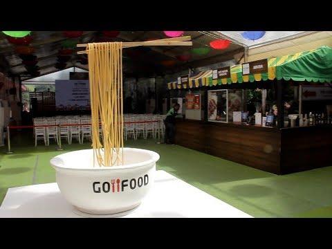 Kemeriahan Go-Food Festival Di Mal Pasaraya Blok M