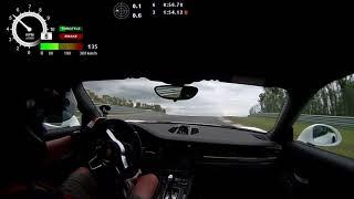 Porsche GT3 RS Bilster Berg mit Pistenclub