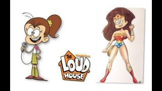 The Loud House Characters as Avengers / Justice League .