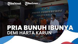 Pria di Malang Bunuh Ibunya setelah Temui Dukun, Korban Dijadikan Tumbal untuk Dapat Harta Karun