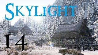 Skylight 14 (Skyrim Mods) : No snow under the roof