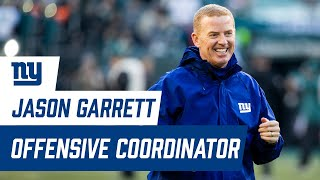 New York Giants Hire Offensive Coordinator Jason Garrett
