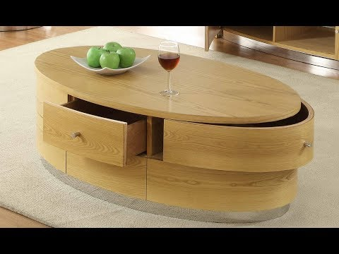 Couchtisch Holz Oval 2018
