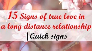 15 Signs of true love in long distance relationship