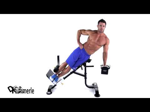 Dumbbell 45 Degree Side Bend