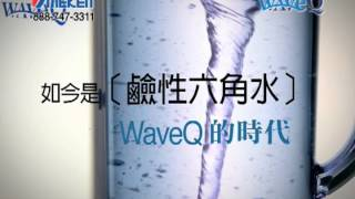 link youtube of 鹼性6角水生成機 - Wave Q