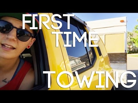 Trouble towing a vintage travel trailer