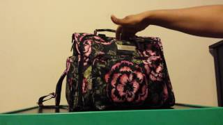 What's in my Diaper Bag? 19 month old Ju Ju Be Blooming Romance BFF pt 1