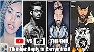 TikTok Vs YouTube|Viral Tiktok videos|Tiktokers Reply to Carryminati|Latest Popular tiktok videos.
