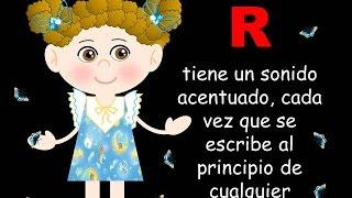 LA R Y RR EN EL IDIOMA ESPAÑOL - VIDEOS PARA NIÑOS - LENGUAJE