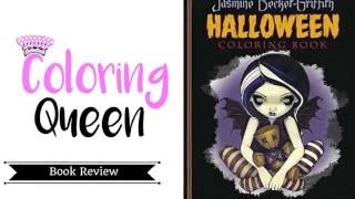 Halloween Coloring Book Review Jasmine Becket-Griffith