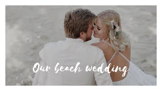 OUR BEACH WEDDING IN ITALY - DESTINATION WEDDING I KAJA-MARIE