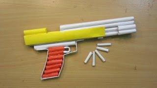 How To Make A Paper Airsoft Gun   Paper Pistol / Desert Eagle   Easy Paper Gun  Tutorials