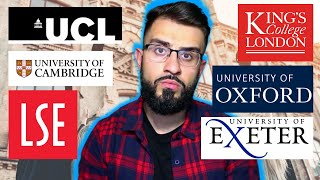 The TRUTH About Top Universities. Should You Apply? - LSE, UCL, Oxbridge, Warwick etc