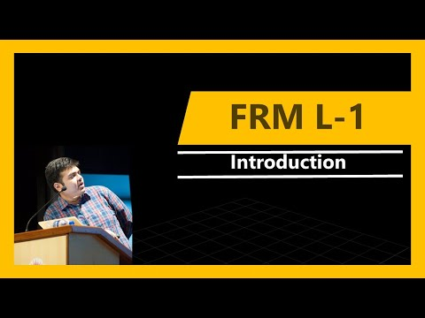 FRM Level-1 | Introduction | 2018 - YouTube