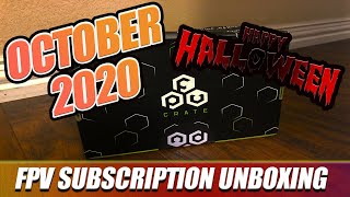 October FPVCRATE | 2020 | Unboxing & Review! - HAPPY HALLOWEEN!